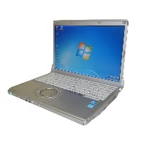 Windows7 Panasonic Let'sNote CF-N9Core i5-520M 2.4GHz/4GB/250GB/光学ドライブなしWPS Office付き(旧KINGSOFT...