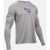 Under Armour NFL Combine Authentic UA Tennessee Titans Logo Long Sleeve Shirt メンズ ロンT Tシャツ アンダーアーマー...