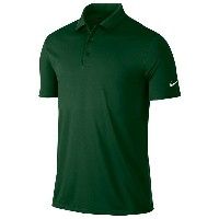 ナイキ メンズ ポロシャツ トップス Men's Nike Victory Solid Golf Polo Gorge Green/White