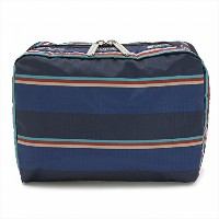 LeSportsac レスポートサック ポーチ 7121 EXTRA LARGE RECTANGULAR COSMETIC SPECTATOR STRIPE D952 [並行輸入商品]