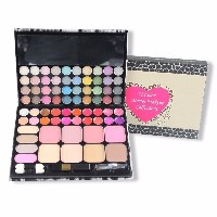 TZ 72 Color Eyeshadow Palette Face blush Cosmetics Blush with Eye shadow Brushes Maquiagem