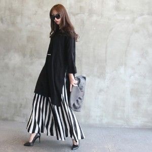 [zoozoom] Wide knit pants 2color / 24226