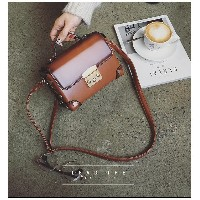 Retro Fashionable pure color British Handbag/Sling Bag/Casual Bag