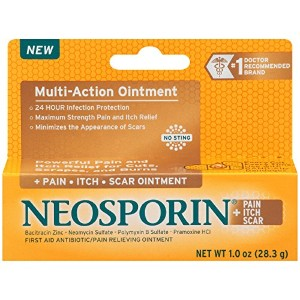 Neosporin Pain/Itch/Scar Multi-Action Ointment, 1 Ounce by Neosporin