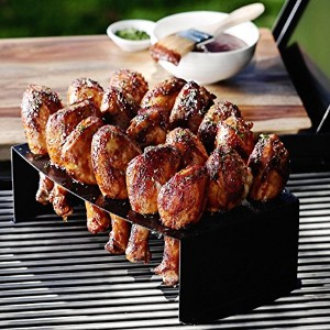 Nordic Ware Chicken Leg Griller Jalapeno Roaster Pan Rack Grill BBQ Oven Roast by Nordic Ware