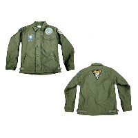 """BUZZ RICKSON'S バズリクソンズA-2 DECK JACKET""""U.S.NAVY"""" PATCH """"PARACHUTTE RIGGER""""2013年生産 BR12887-13AW「NC」"""