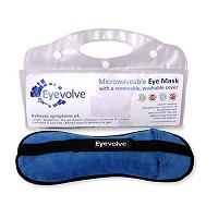 Microwaveable Eye Mask with REMOVABLE WASHABLE COVER by Eyevolve by Eyevolve