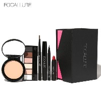 FOCALLURE 8Pcs Daily Use Cosmetics Makeup Sets Make Up Cosmetics Gift Set Tool Kit