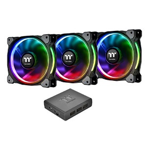 Thermaltake Riing Plus 14 RGB Radiator Fan TT Premium Edition -3Pack- ケースファン FN1087CL-F056-PL14SW-A