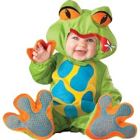 Lil' Froggy Infant / Toddler Costume リルカエル幼児/幼児コスチューム サイズ:6/12 Months