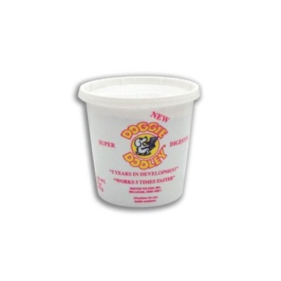 Super Dooley Digester 3 Lb Tub White by Doggie Dooley