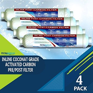 t33インラインCoconut Grade Activated Carbon Pre / Post膜フィルタの味と臭気Reduction RA-4T33