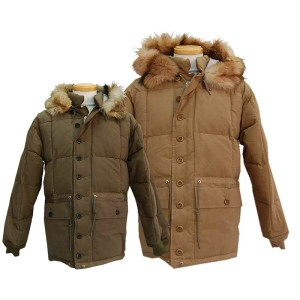 WAREHOUSE ウエアハウス アウター 2083 HOODED DOWN PARKA WITH FUR 【smtb-k】【kb】