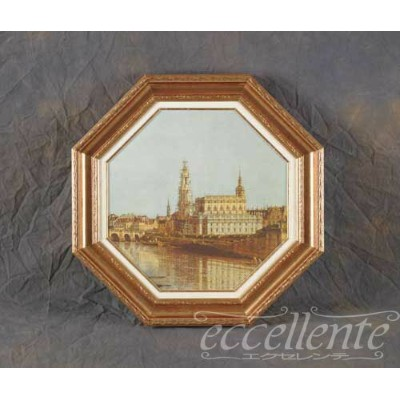 615903771A イタリア製 額絵小 City of Germany Palace