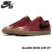 ★国内正規品★ 【NIKE SB】ナイキ エスビー 【BLAZER ZOOM LOW XT】ブレザー ズーム ロー Dark Team Red/Gum Light Brown/Sail/Black...