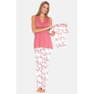 4piece maternity sleepwear gift set マタニティ ギフト セット パジャマ 下着 ママ キッズ ベビー