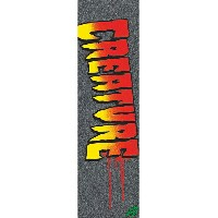 【MOB GRIP モブグリップ】9in x 33in CREATURE LOGO STENCIL SHEETグリップテープ デッキテープ クリーチャー スケートボード スケボー sk8...