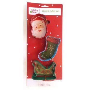 1x Santa Stocking & Sled Cookie Cutters