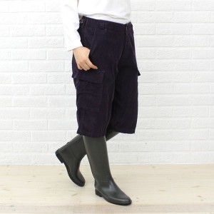 【40%OFF】【ミューザ miusa】CORDUROY SHORT LENGTH PANTS WITH 6 POCKETS・NMSU0873D【レディース】【RCP】【ボトムス】【last_1】【◎】