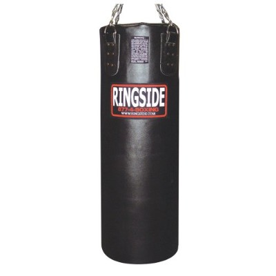 Ringside レザー Heavy Bag - Unfilled (Black) (海外取寄せ品)