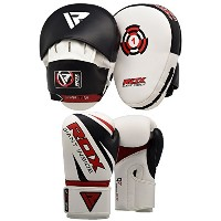 RDX Boxing フォーカス Punch Mitts MMA Training Punching Hook and Jab Strike Pads Traget With Punching...