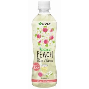 伊藤園 Relax PEACH PET 500ml×24本入