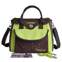 LANDHOUSE Women's Baby Diaper Nappy Bag Tote Green by LANDHOUSE