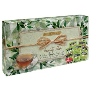 Bigelow. 30568 Green Tea Assortment, Individually Wrapped, Eight Flavors, 64 Tea Bags/Box