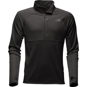 ノースフェイス メンズ シャツ トップス The North Face Ambition 1/4-Zip Shirt - Men's Tnf Black/Tnf Black