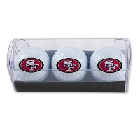 McArthur Sports NFL 49ers 3 Golf Ball Sleeves【ゴルフ ボール】
