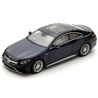 Spark 1/43 Mercedes Benz AMG S63 Coupe 2016 ダークブルー