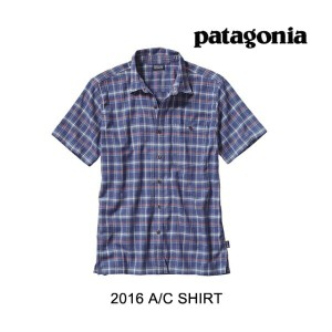 2016 PATAGONIA パタゴニア シャツ AC SHIRT TVCB TRAVELLER:CHANNEL BLUE
