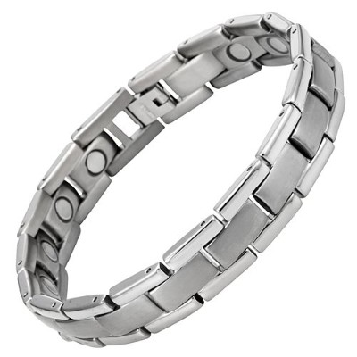 Willis Judd Titanium Magnetic Therapy Bracelet Adjustable For Pain Relief Arthritis and Carpal...