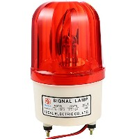 UHPPOTE 回転灯 DC 12V 10W 工業用 安全 レッド 赤 ロータリー フラッシュ 警告灯 防犯 アクセス制御 フラッシュライト UHPPOTE 12VDC 10W Industrial...