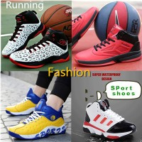 2017new basketball shoes men genuine discount new winter wear non-slip cushioning warm high-top snea