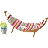 バービー ハンモックセット (Barbie Hammock Furniture & Accessory Set/DVX47/MATTEL社/ドール付属せず)