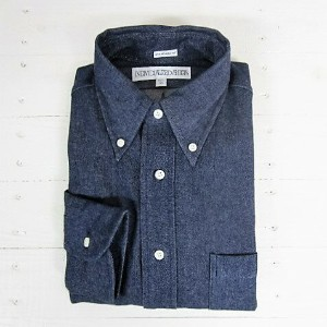 インディビジュアライズドシャツ individualized shirts [ls][denim][standard][indigo]