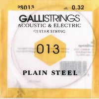 gallistrings / Acoustic & Electric Plain Steel PS013 .013 バラ弦 【エレキギター弦】【アコースティックギター弦(アコギ弦)】...