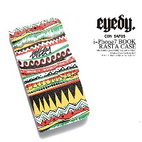 (アイディ)eyedy i-Phone7 BOOK RASTA CASE iPhone7