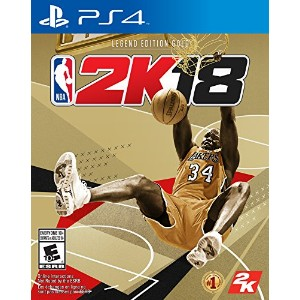 NBA 2K18 Legend Edition Gold PS4 - Imported