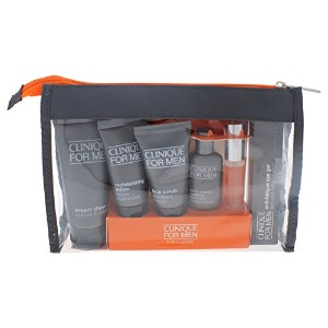 クリニーク Clinique For Men Exclusive Travel Set: Moisturizing Lotion+Eye Gel+Post-Shave Soother+Face...