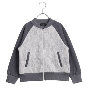 【SALE 55%OFF】コムサイズム COMME CA ISM レースブルゾン (グレー)