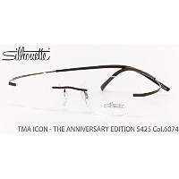 【シルエット メガネ】Silhouette:TMA ICON - THE ANNIVERSARY EDITION 5425/41 6074 48