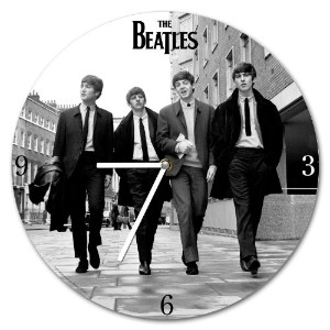 """Clock - The Bealtes - 13.5"""" Wood Wall Clock Gifts Toys Licensed 53267"""