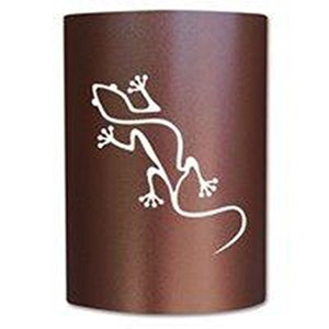 Jelly Jar照明gk-cc-026Copper Canyon Finished Sconce with a copper canyon Shade