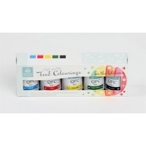 Squires High Quality Food Colouring Kit 1- 5 Piece Pack by Squires Kitchen