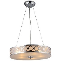 Whse of Tiffany RL1349/5 Marks 3-Light Crystal Chandelier by Whse of Tiffany
