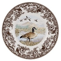 Spode Woodland - Canada Goose Dinner Plate by Spode