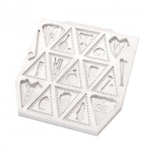 Katy Sue Mould - Bunting For Boys Design Mat