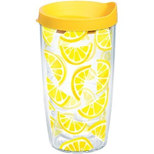 Tervis 1243342Eat Drink Merry Tumbler with Wrap、16オンス、クリア